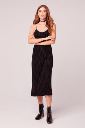 Velvet Slip Dress - Dalton Boutique
