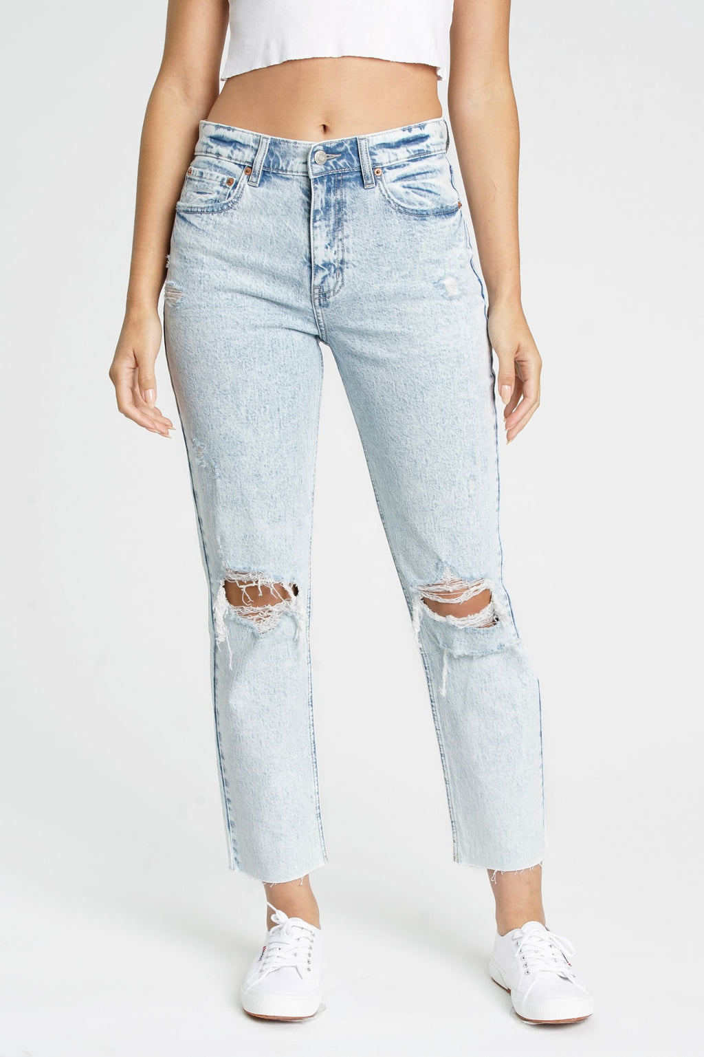Straight Up High Rise Denim - Dalton Boutique