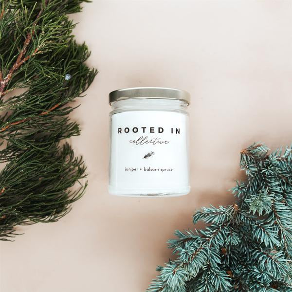 Clean Burning Candles -  Juniper ∙ Balsam Spruce - RESTOCKED