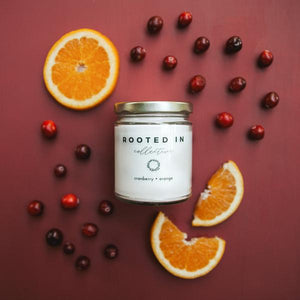 Rooted In Collective Candle -  Cranberry ∙ Orange