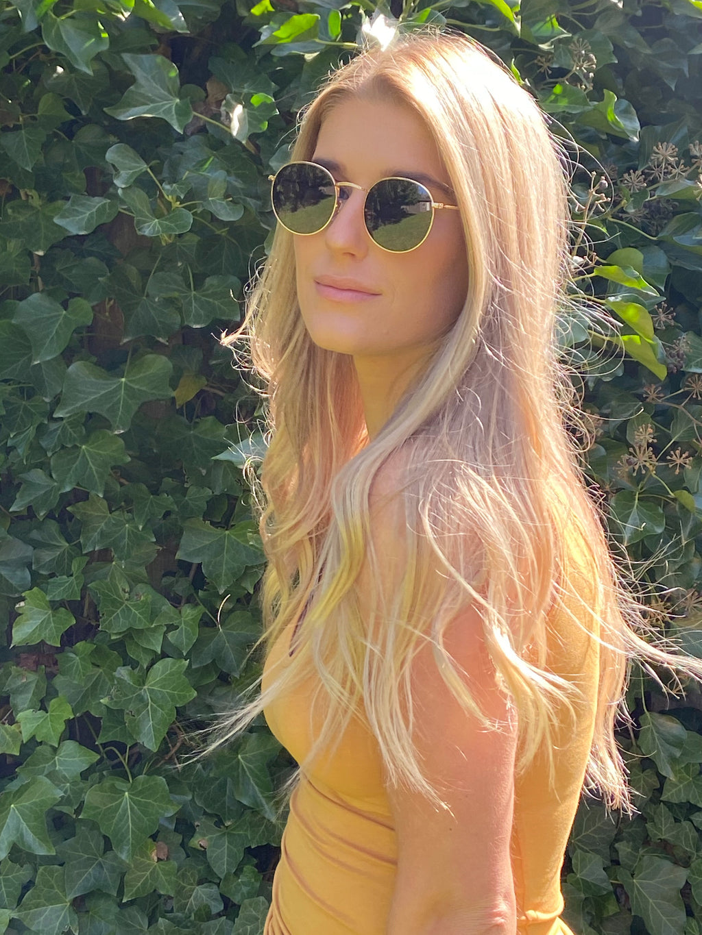 Retro Round Sunnies - Dalton Boutique