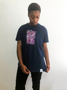 LACUS - French Navy Tee