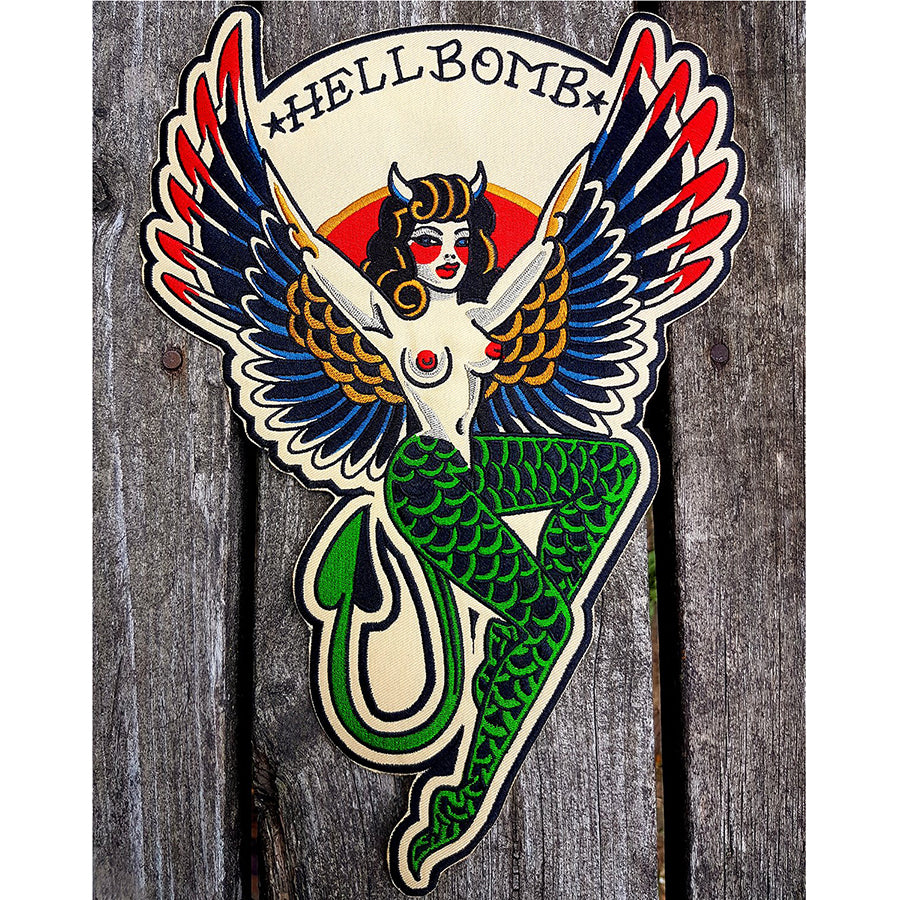 Hellbomb Back Patch