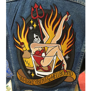 Hellbound Back Patch