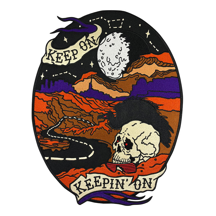 Keep On Keepin' On Back Patch
