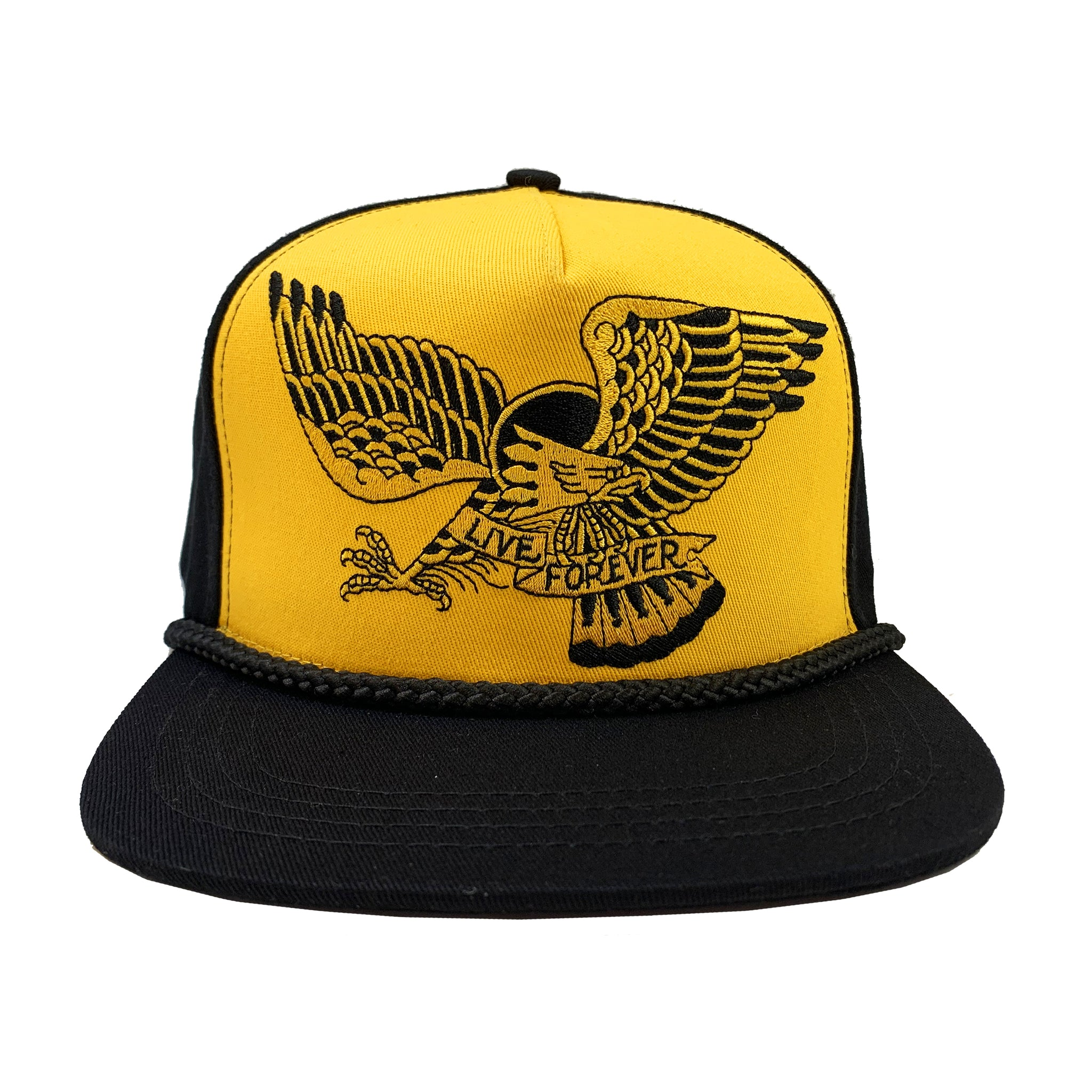Live Forever Cap Gold Edition