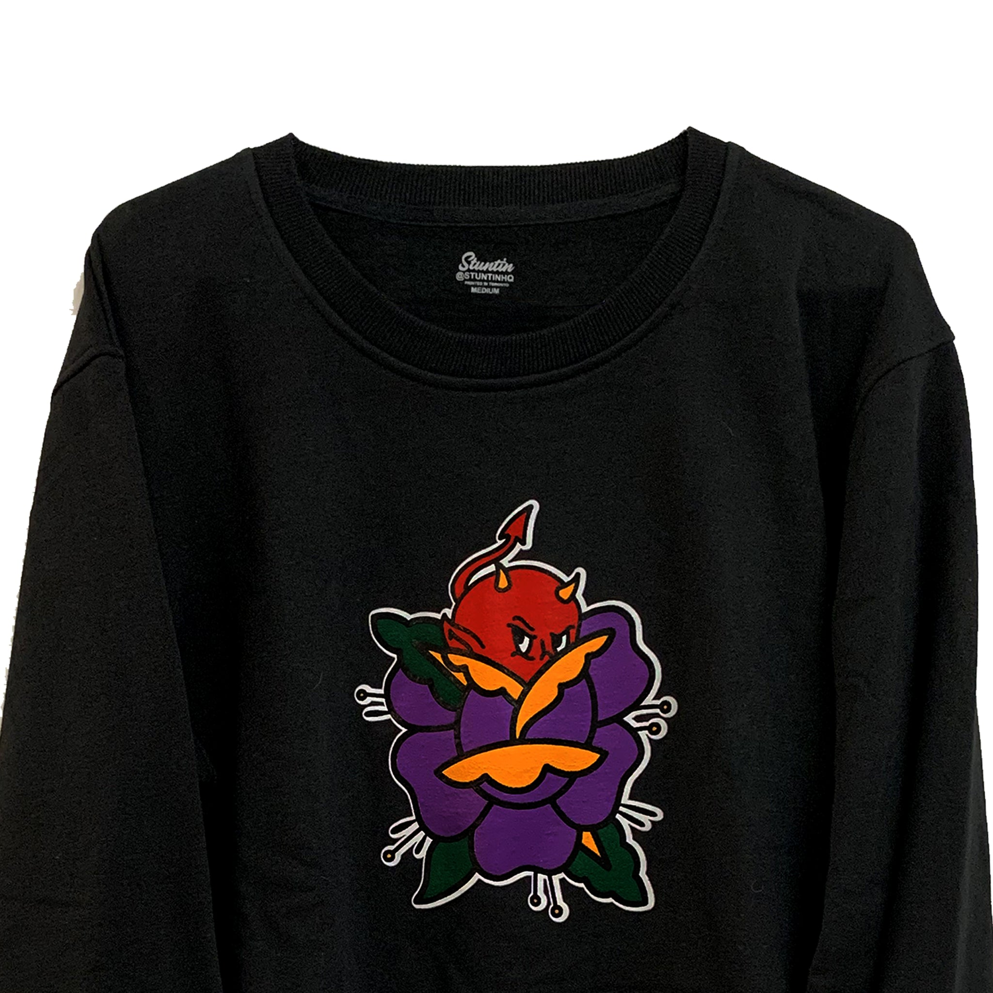 Peekaboo Crewneck Sweater
