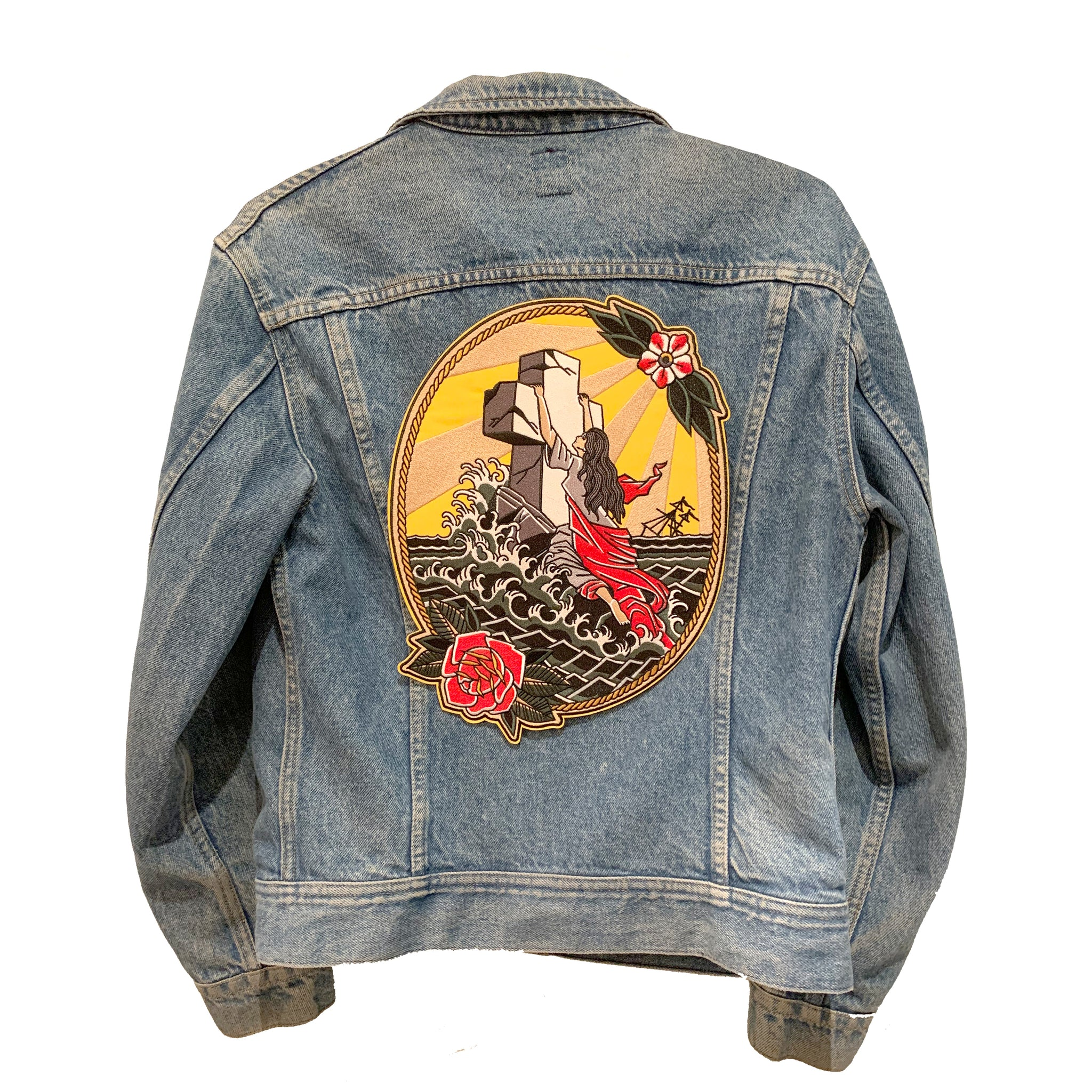 Rock Of Ages Back Patch