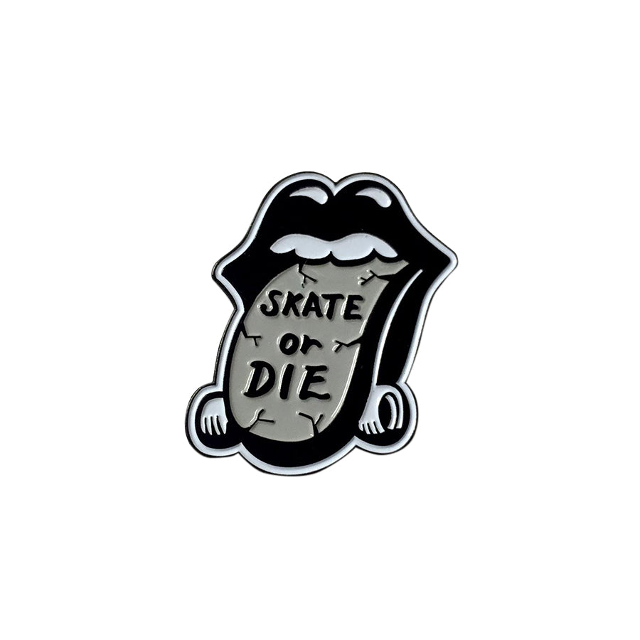Skate Or Die Lapel Pin