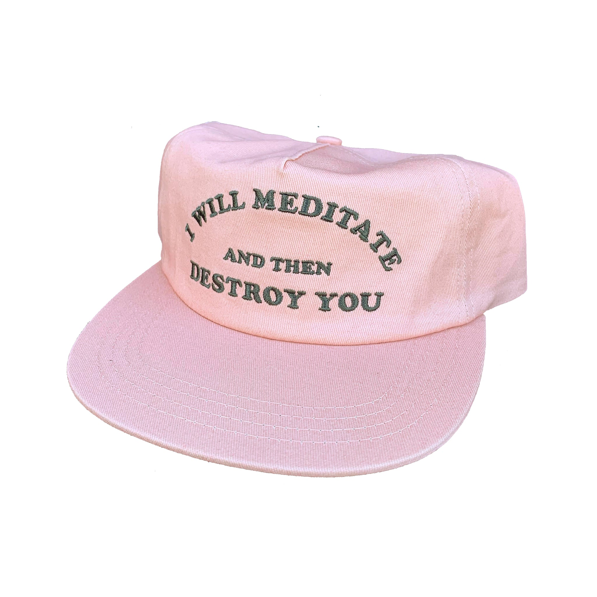 Yoga Flame Cap (Dusty Pink Solid)