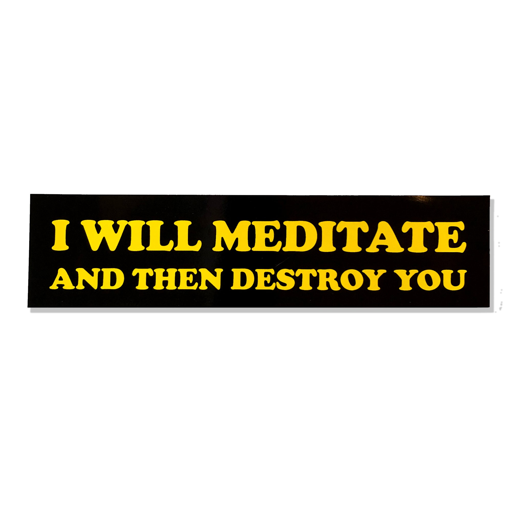 Yoga Flame Bumper Sticker