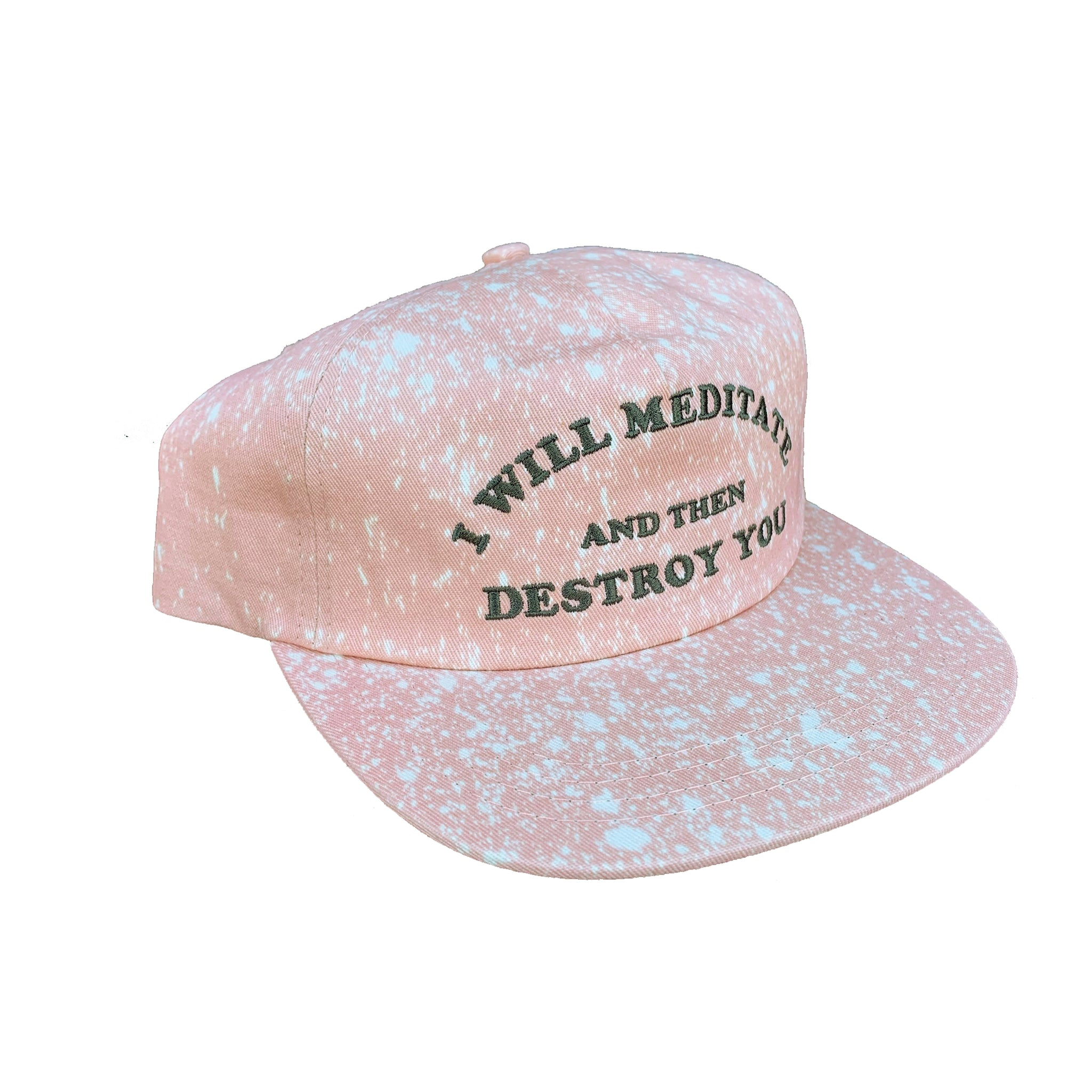 Yoga Flame Cap (Dusty Pink Bleached)