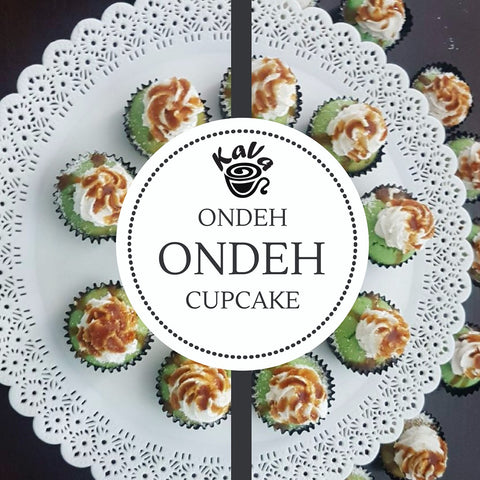 Ondeh-ondeh Cupcake