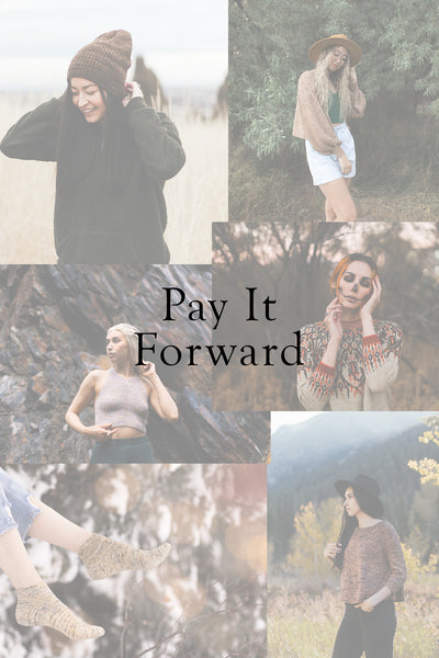 Pay It Forward/Gift A Pattern