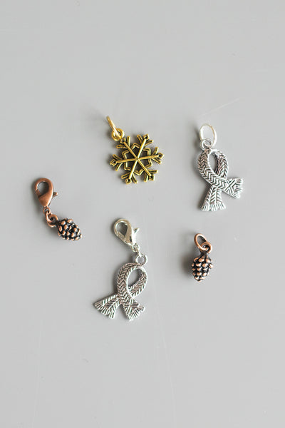 Winter Stitch Markers
