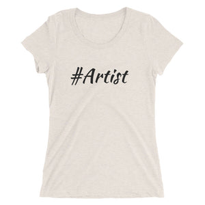 #Artist Ladies' short sleeve t-shirt