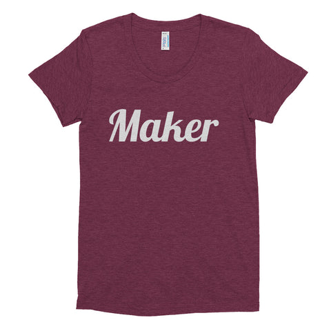 """Maker"" Women's Crew Neck T-shirt"