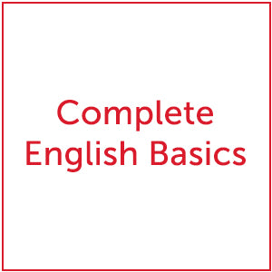 Secondary-Complete English Basics