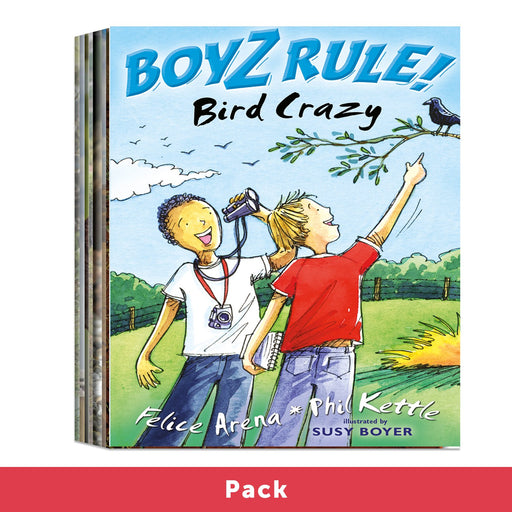 Boyz Rule! Set 4 Pack (1x8 titles)