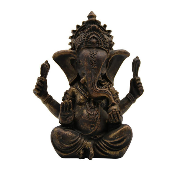 Meditating Ganesha Elephant Ornament - ornament - The Elephant Kingdom Shop. Perfect gift for an elephant lover