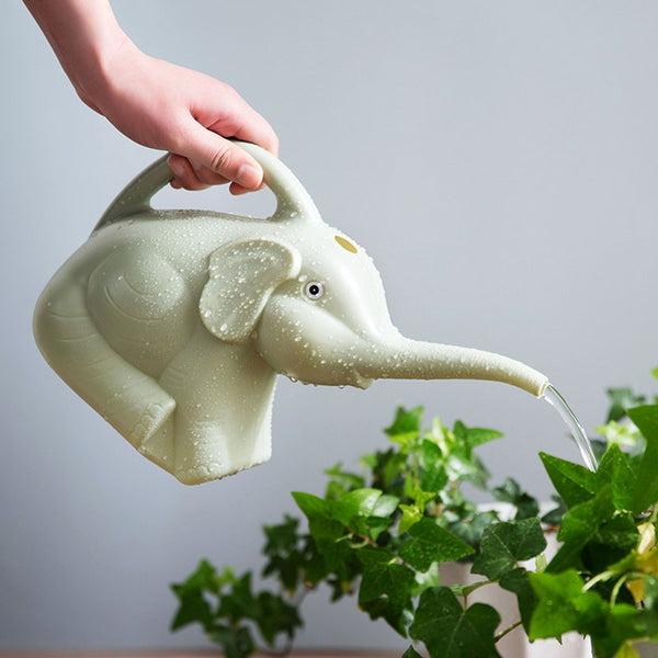 Elephant Watering Can - garden - The Elephant Kingdom Shop. Perfect gift for an elephant lover