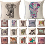 24 Colourful and Unique Elephant Cushion Covers - pillow - The Elephant Kingdom Shop. Perfect gift for an elephant lover