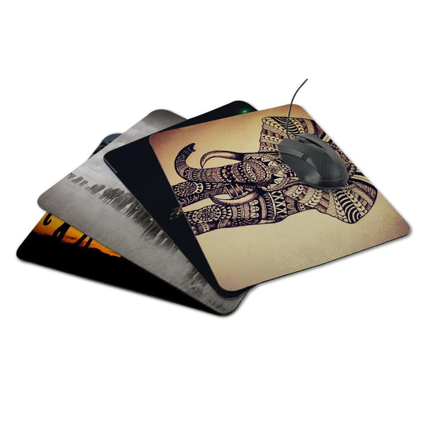 Elephant Style Mousepad - novelty - The Elephant Kingdom Shop. Perfect gift for an elephant lover