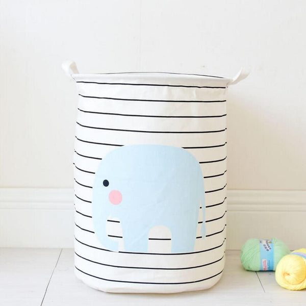 Elephant Laundry Basket - novelty - The Elephant Kingdom Shop. Perfect gift for an elephant lover