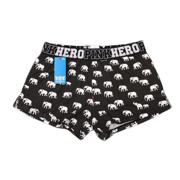PINKHERO Cotton Elephant Boxers - novelty - The Elephant Kingdom Shop. Perfect gift for an elephant lover