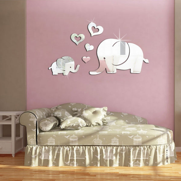 Stylish Elephant Mirror - mirror - The Elephant Kingdom Shop. Perfect gift for an elephant lover