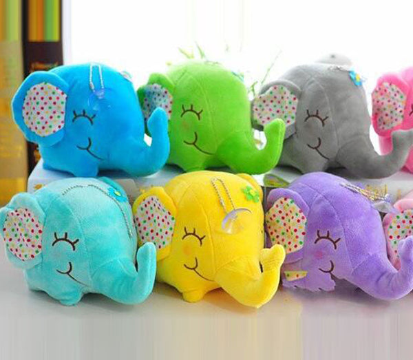 Tiny 12cm Collectable Elephant Plushies - Plushie - The Elephant Kingdom Shop. Perfect gift for an elephant lover