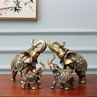 Decorative Resin Elephant Ornaments - ornament - The Elephant Kingdom Shop. Perfect gift for an elephant lover