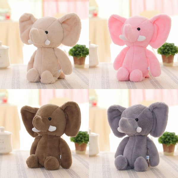 Mini Stuffed Elephant Plushie - teddy - The Elephant Kingdom Shop. Perfect gift for an elephant lover
