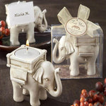 Lucky Elephant Candle Holder - candle holder - The Elephant Kingdom Shop. Perfect gift for an elephant lover