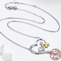 Lucky Silver Elephant Necklace - necklace - The Elephant Kingdom Shop. Perfect gift for an elephant lover