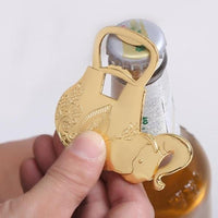 Elephant Bottle Opener - novelty - The Elephant Kingdom Shop. Perfect gift for an elephant lover