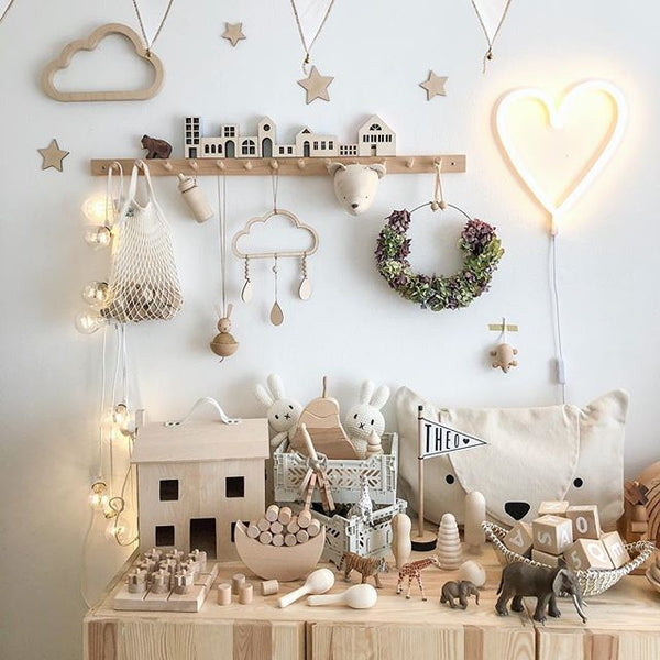 Amazing Muted Nursery Playroom Inspiration