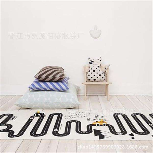 Road Print Adventure Game Play Mat Carpet
