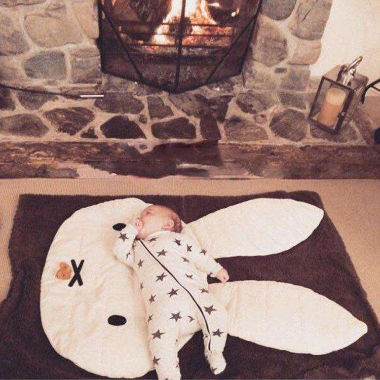 Miffy Rabbit Shape Rug Creeping Carpet