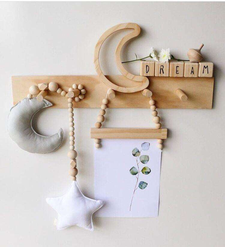 String DIY Playroom Decoration Photography