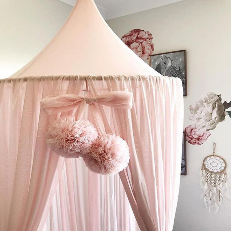 Double Pom Pom Canopy Decor Accessory Garlands in 15 Colors