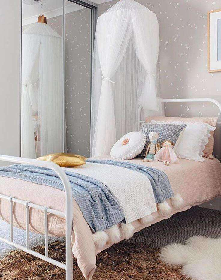 Unique 10 Layers Yarn Princess Bed Net Canopy- White