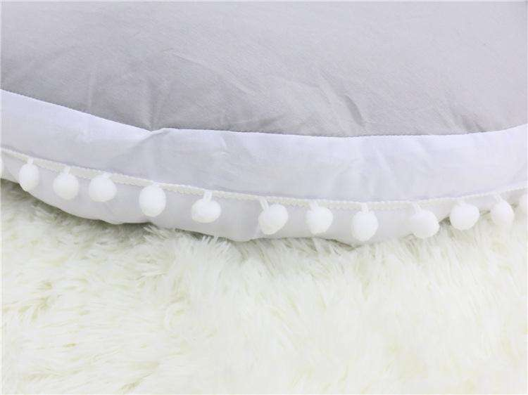 Thicken Pom Pom Deor Rug Creeping Carpet Mat Cushion