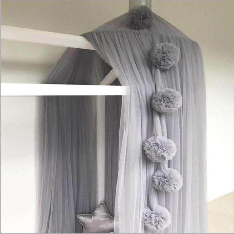 Sherry Pom Pom Canopy Decor Accessory Garlands Ornaments