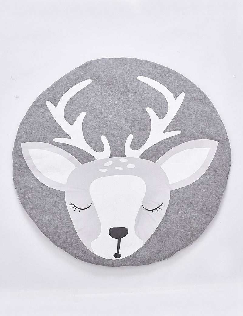 Elk Deer Print Collapsible Creeping Carpet