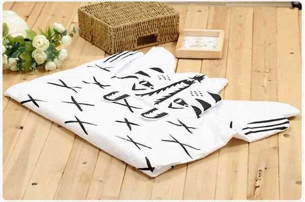 Animal Tiger Playmat Crawling Rug Creeping Carpet Blanket