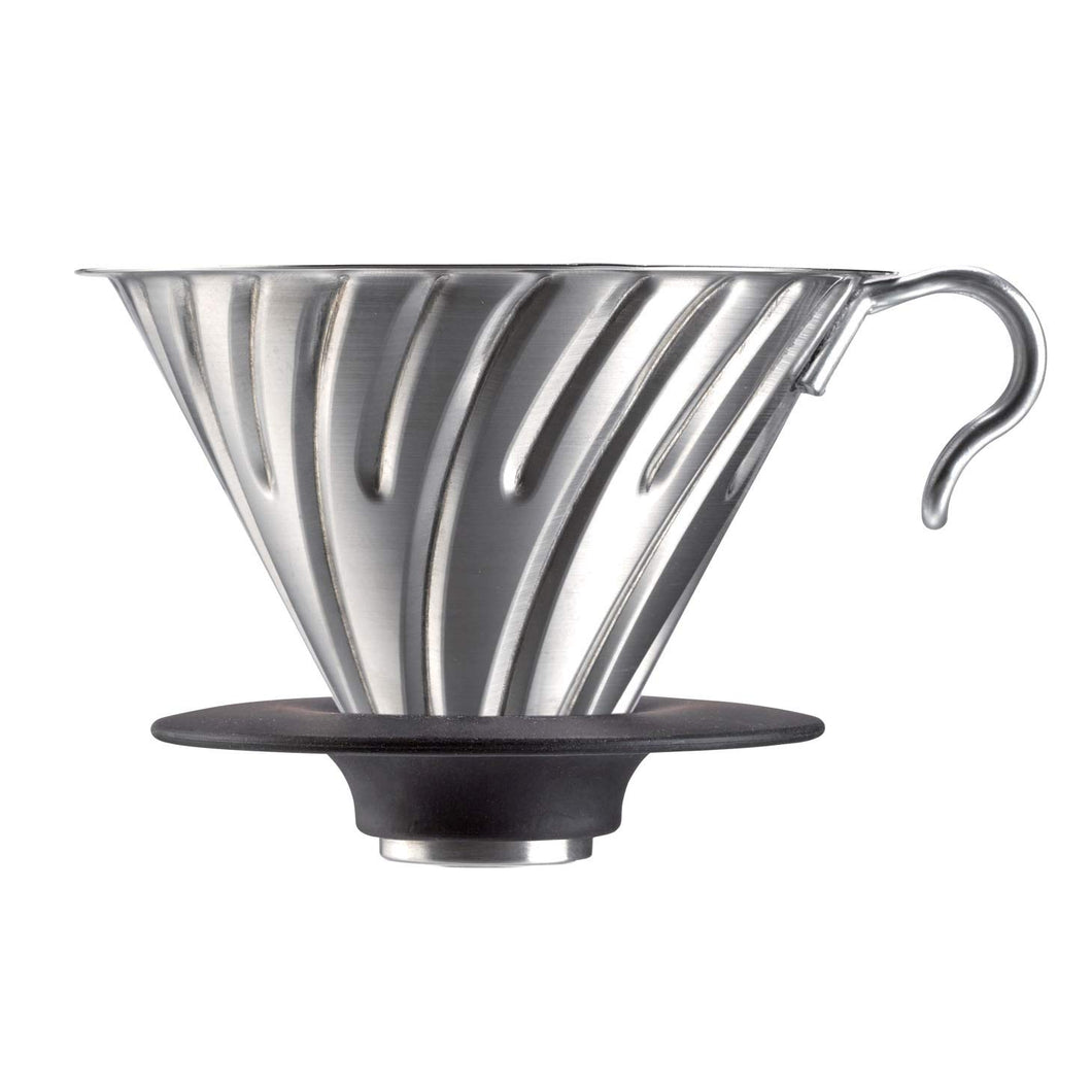 Hario® V60 Metal Coffee Dripper, 02 silver