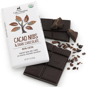 Cacao Nibs & Dark Chocolate Bar