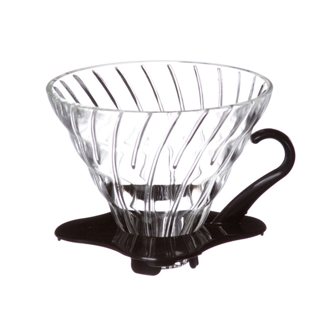 Hario® V60 Glass Dripper, Clear 02