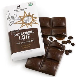 Salted Caramel Latte Chocolate Bar
